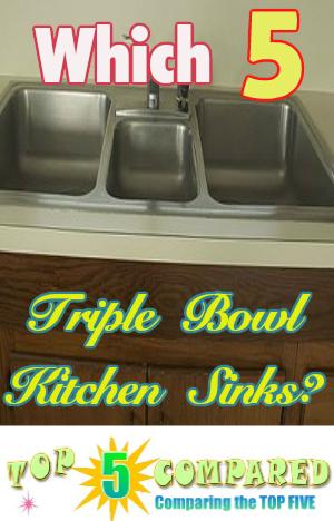 triple bowl kitchen sink - Kitchen Sink Stinks